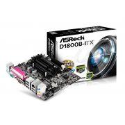 Placa Mãe ASROCK D1800B-ITX C/ Processador Integrado INTEL DUAL-CORE J1800