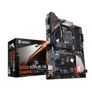 Placa Mãe Gigabyte B360 Aorus Gaming 3 P/ INTEL LGA 1151 DDR4 USB 3.1 SATA III
