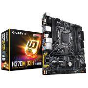 Placa Mãe Gigabyte H370M-D3H P/ INTEL LGA 1151 DDR4 USB 3.1 SATA III