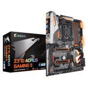 Placa Mãe Gigabyte Z370 Aorus Gaming 5 P/ INTEL LGA 1151 DDR4 USB 3.1 SATA III