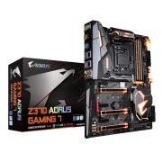 Placa Mãe Gigabyte Z370 Aorus Gaming 7 P/ INTEL LGA 1151 DDR4 USB 3.1 SATA III