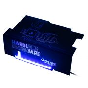 Psu Cover Rise Hardcore LED AZUL RM-CP-01-HD