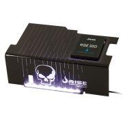Psu Cover Rise SKULL LED Branco com Suporte de SSD RM-CP-02-CA