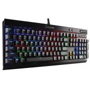 Teclado Gamer Mecânico Corsair K70 LUX RGB CHERRY MX BROWN Padrão US CH-9101012-NA