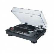 Toca Disco Audio Technica LP120 USB Bivolt Preto AT-LP120BK-USB