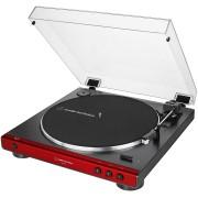 Toca Disco Audio Technica LP60X Automático Bivolt Vermelho AT-LP60X-RD-C