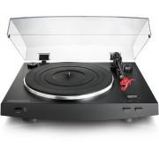 Toca Discos Audio Technica AT-LP3BK Preto, Automático, Estéreo, Acionado por Correia