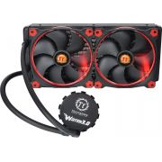 Water Cooler Thermaltake Water 3.0 Riing LED Vermelho 280 CL-W138-PL14RE-A