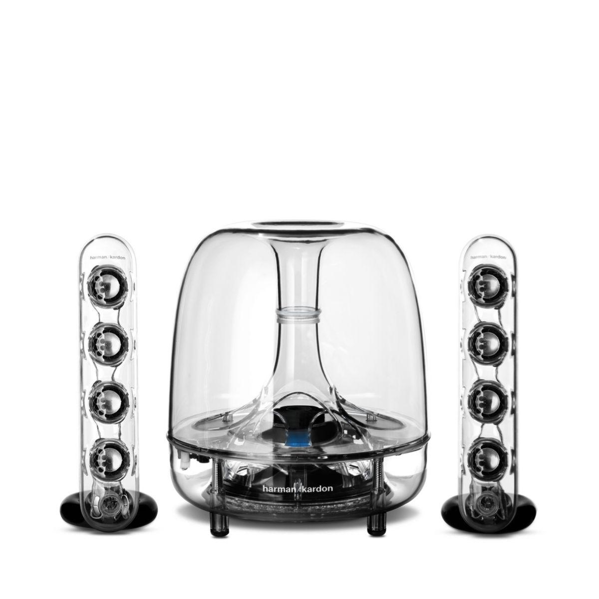 caixa de som harman kardon soundsticks bt wireless. Black Bedroom Furniture Sets. Home Design Ideas