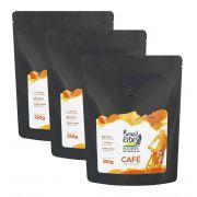 Kit com 3 Café Brasil Ride 250g - 2 em grãos e 1 moído
