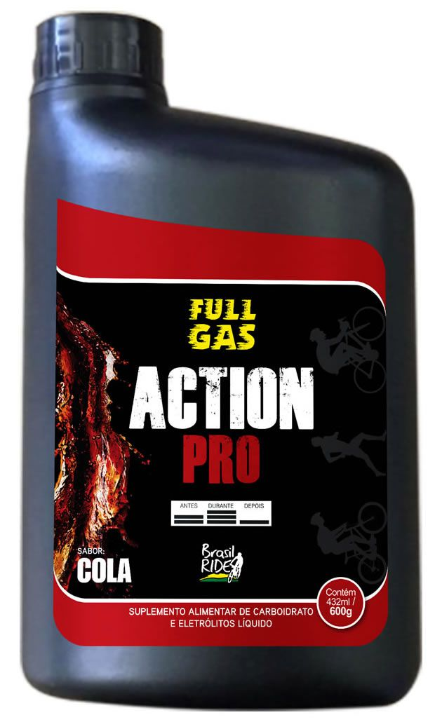 Action Pro Gel de Palatinose - Sabor Cola