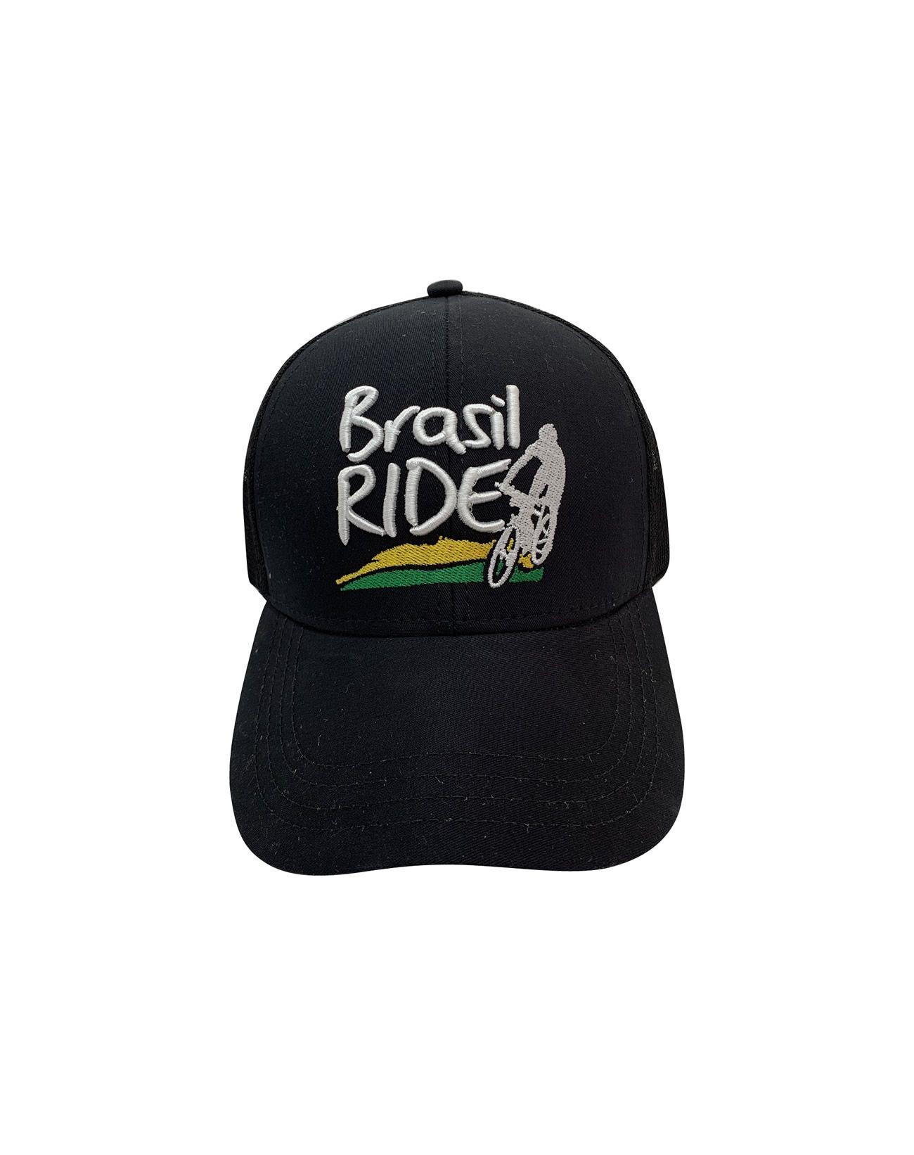 Boné Brasil Ride Preto