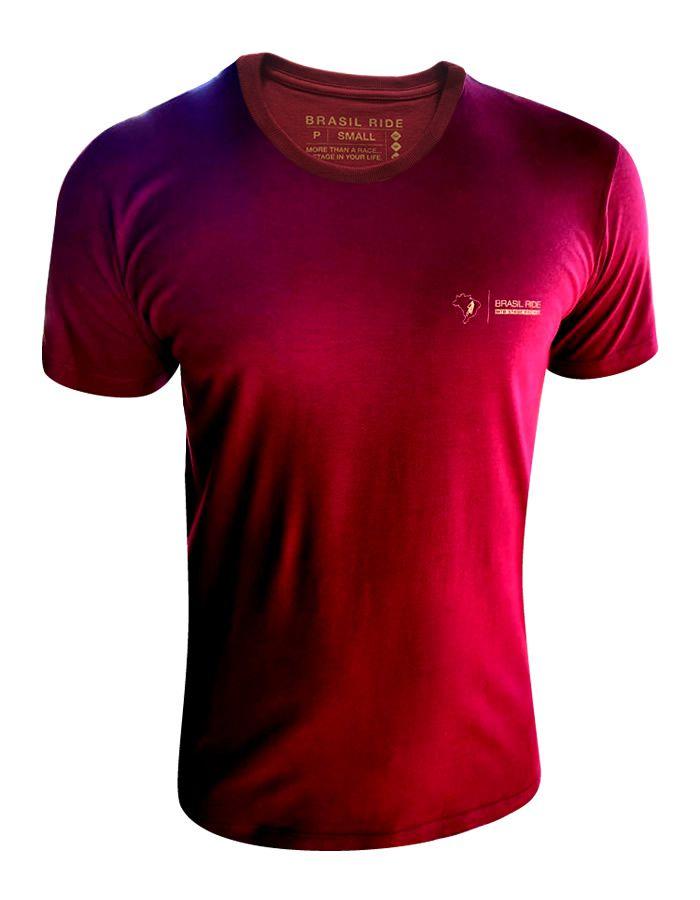 Camiseta Montanha vinho
