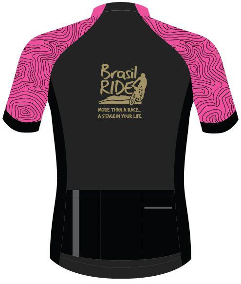 Jersey Brasil Ride rosa