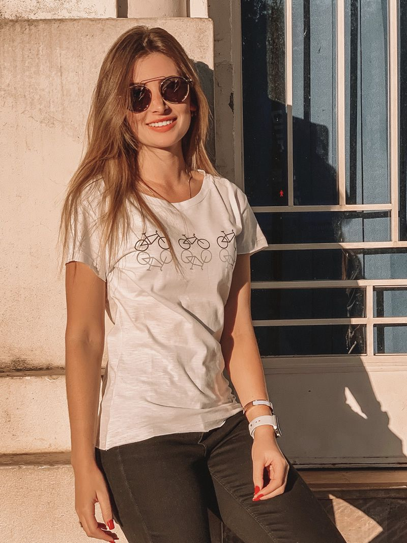 T-Shirt Bikes Feminina