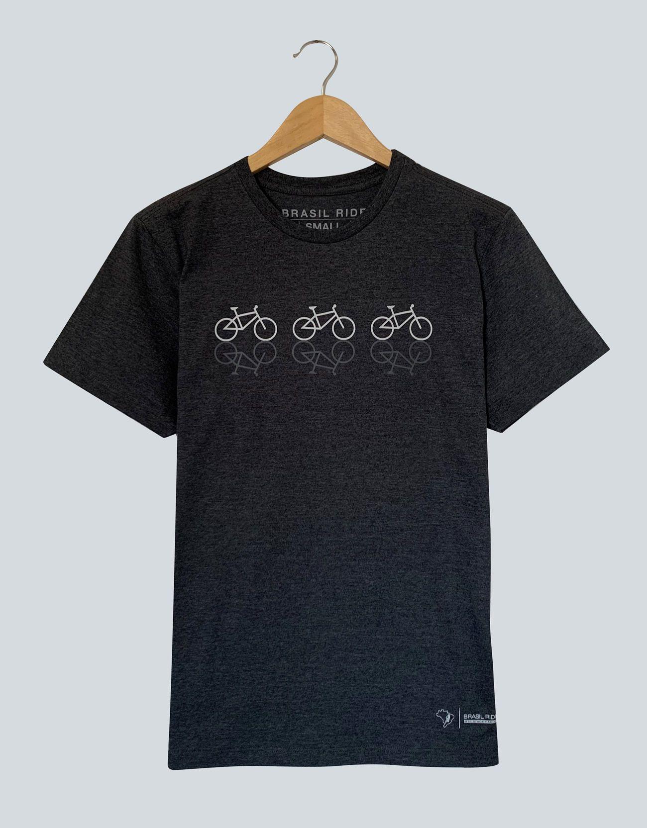 T-Shirt Bikes Grey