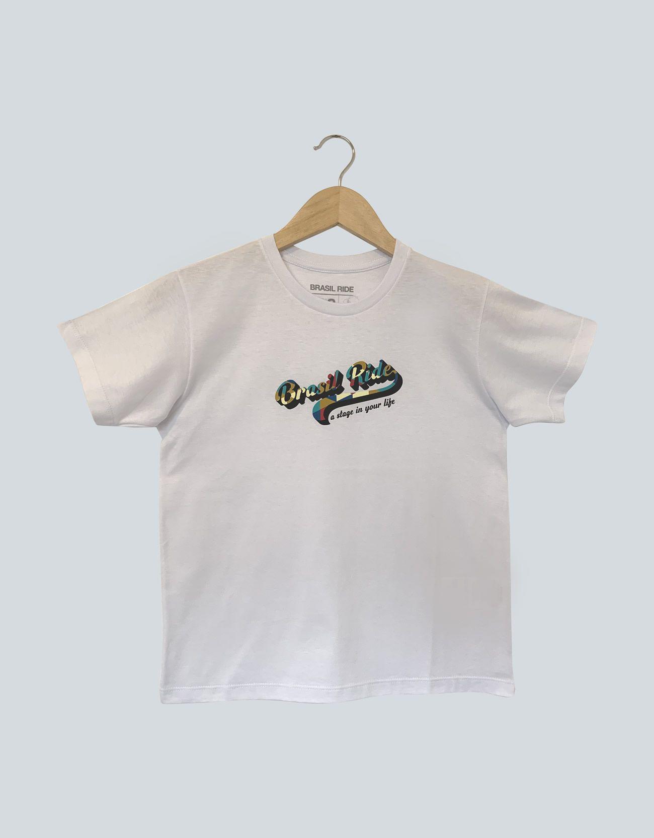 T-Shirt Infantil Brasil Ride