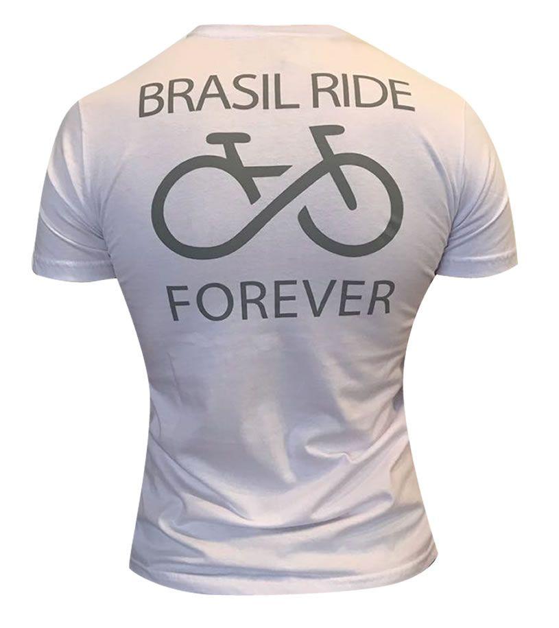 Tshirt Brasil Ride branca
