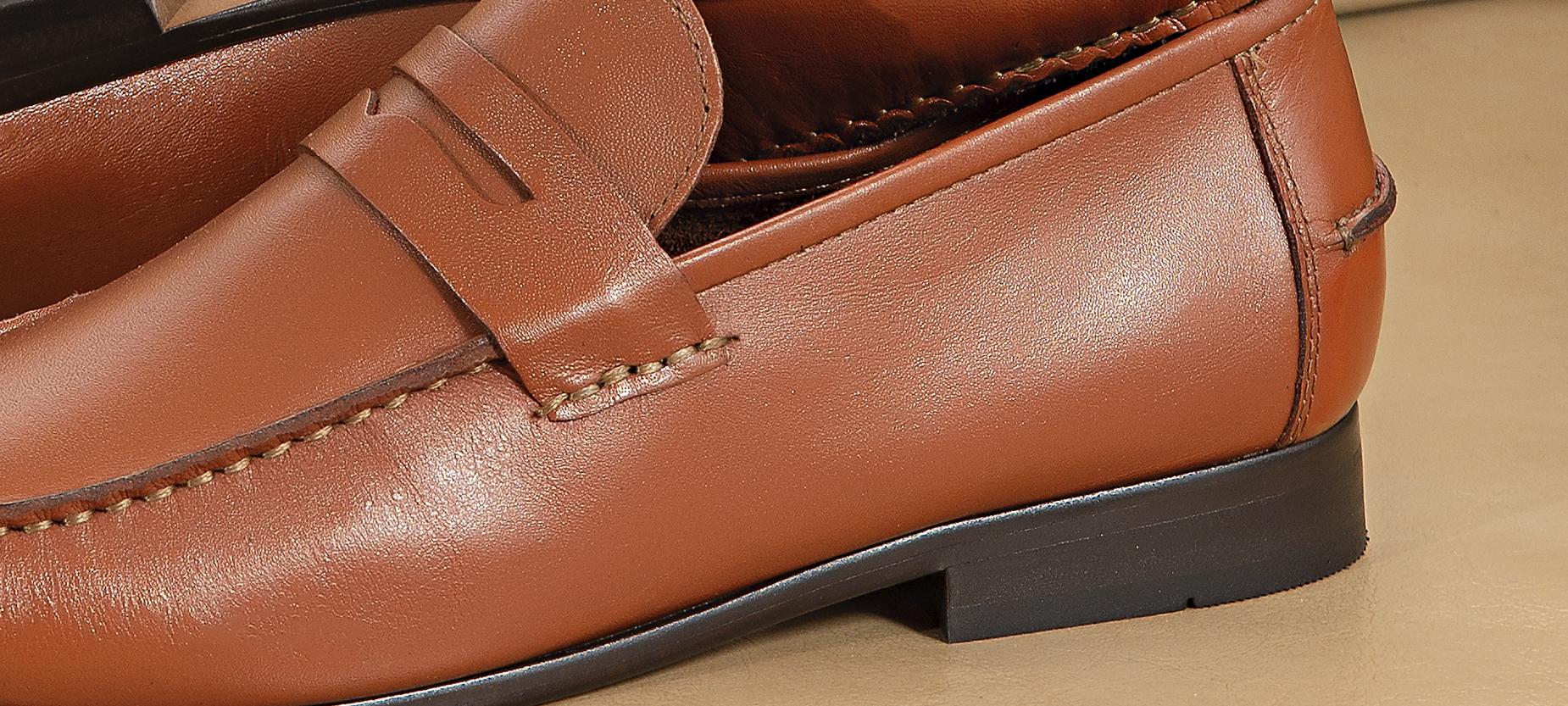 sapato casual masculino couro
