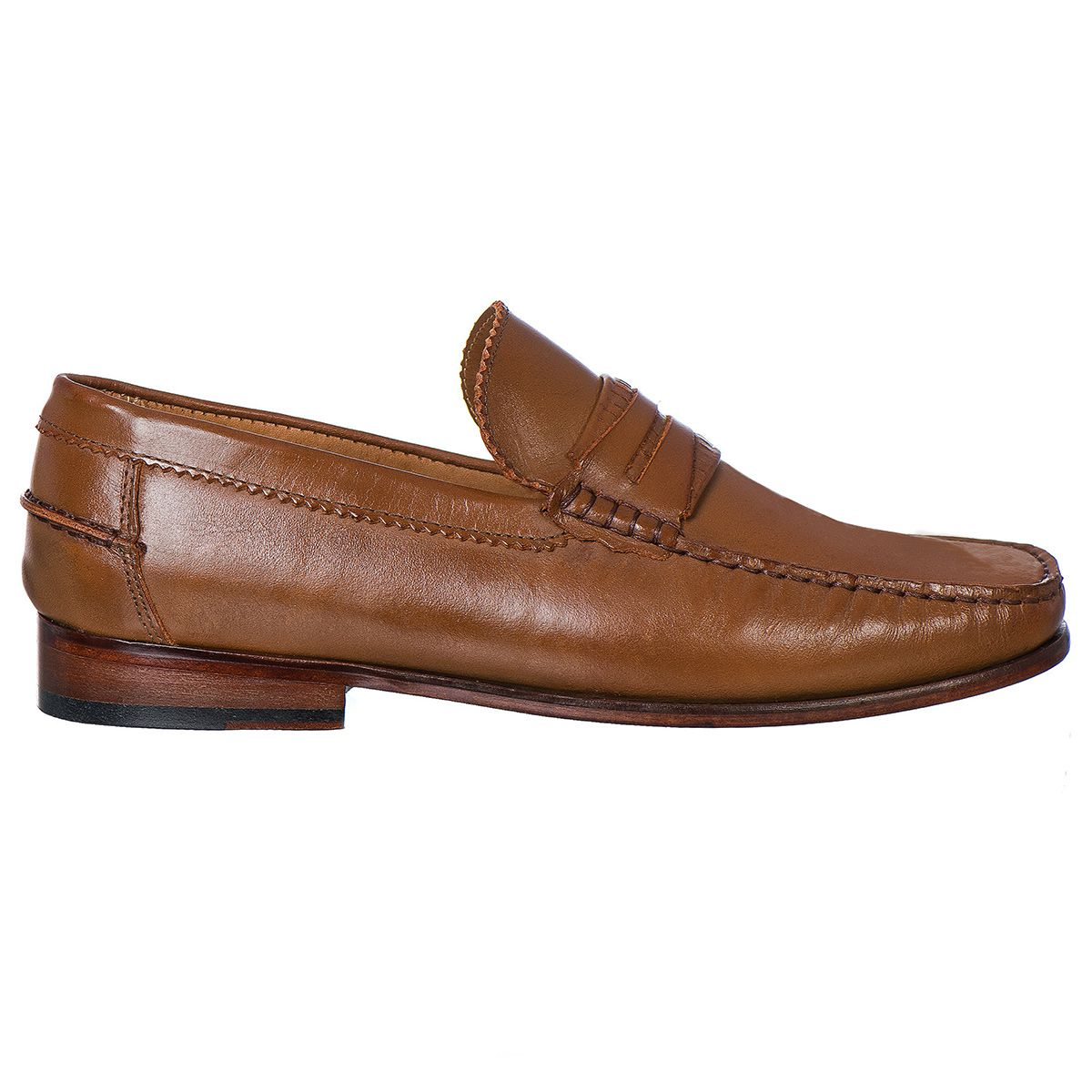 Mocassim Argentino Masculino em Couro Latego Whisky Rocco Lorenzzo - 4465