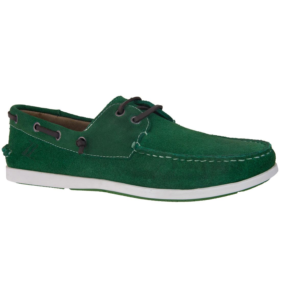 Dockside Masculino Camurça Verde - Rocco Lorenzzo - 4412