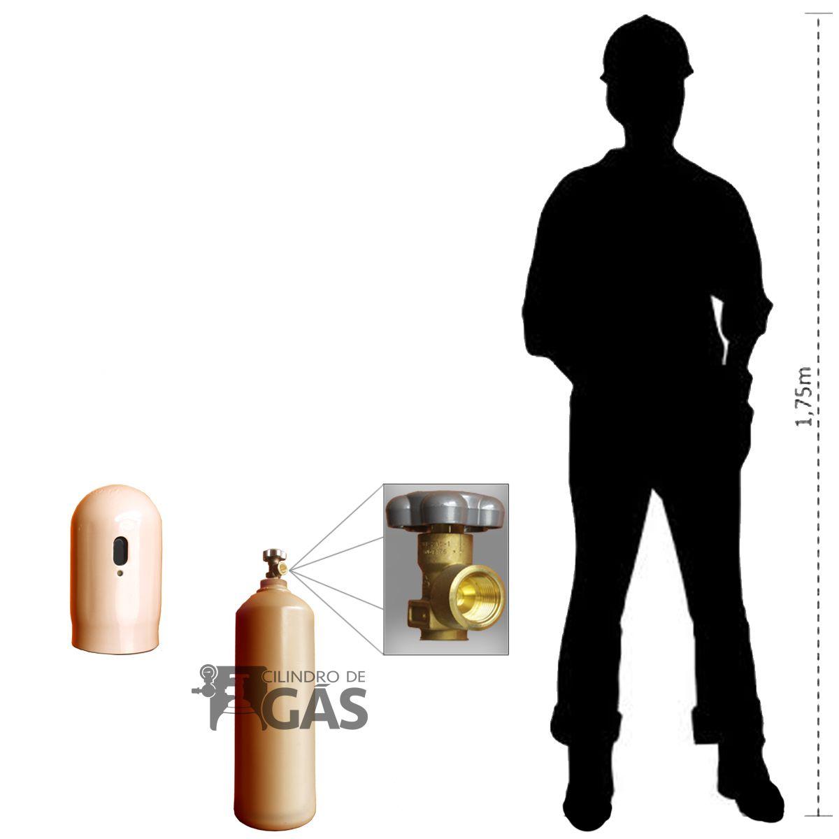 Cilindro de Mistura para MIG - 7L