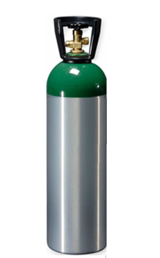 Cilindro de Oxigênio Medicinal Alumínio - 10,7L