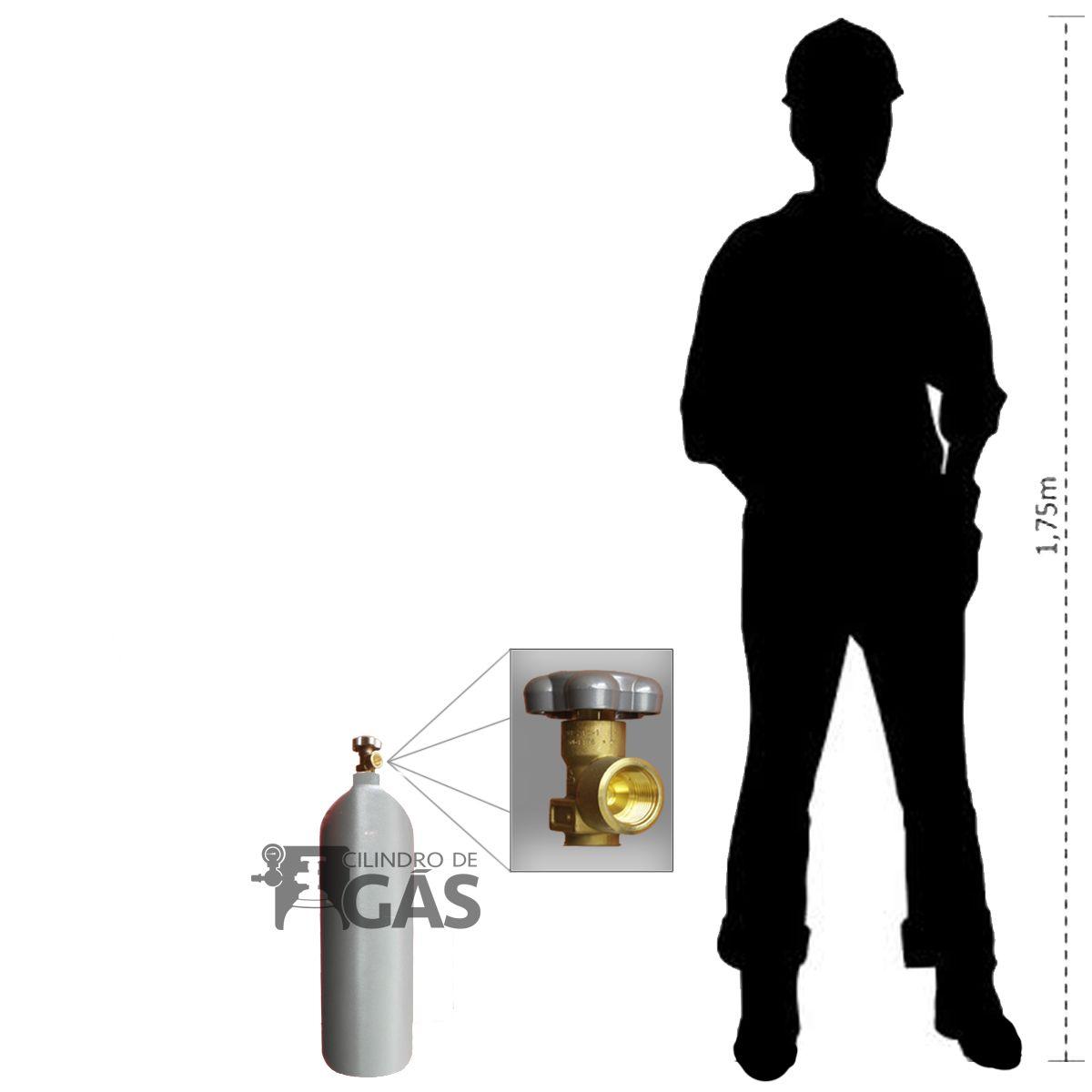 Cilindro para Nitrogênio - 5L