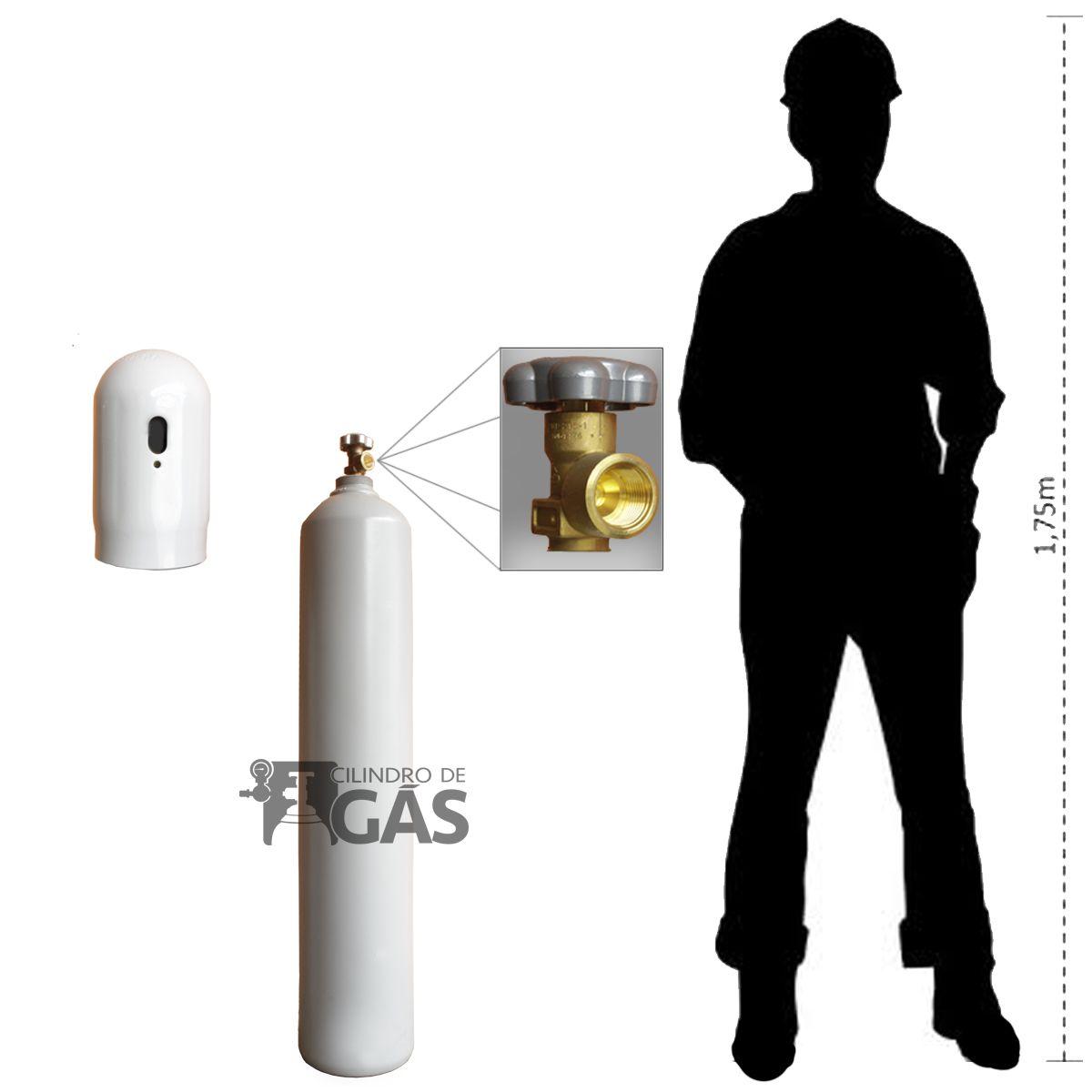 Cilindro para Nitrogênio Industrial - 15L