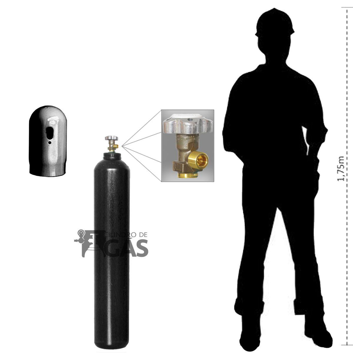 Cilindro para Oxigênio Industrial - 15L