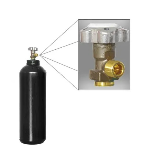 Cilindro para Oxigênio Industrial - 3L