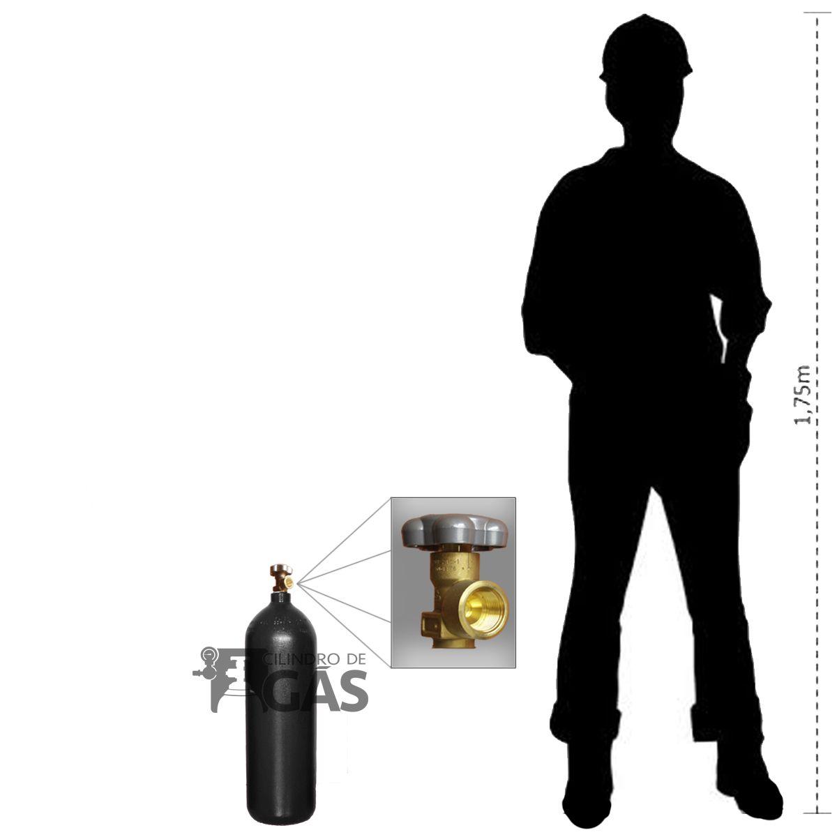 Cilindro para Oxigênio Industrial - 5L