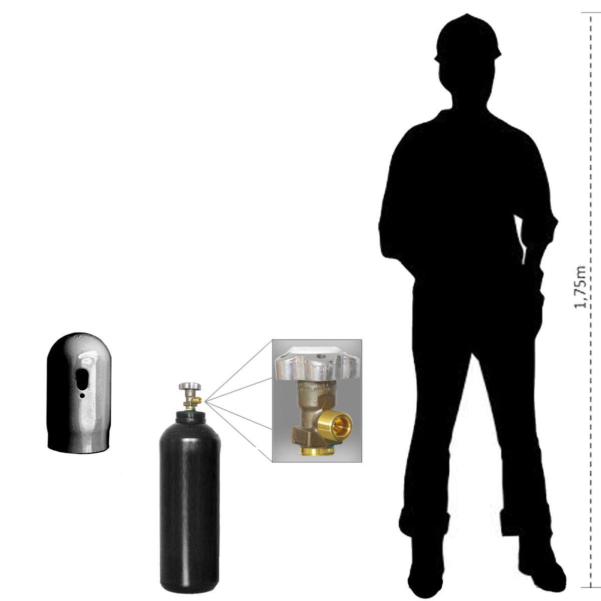 Cilindro para Oxigênio Industrial - 7L