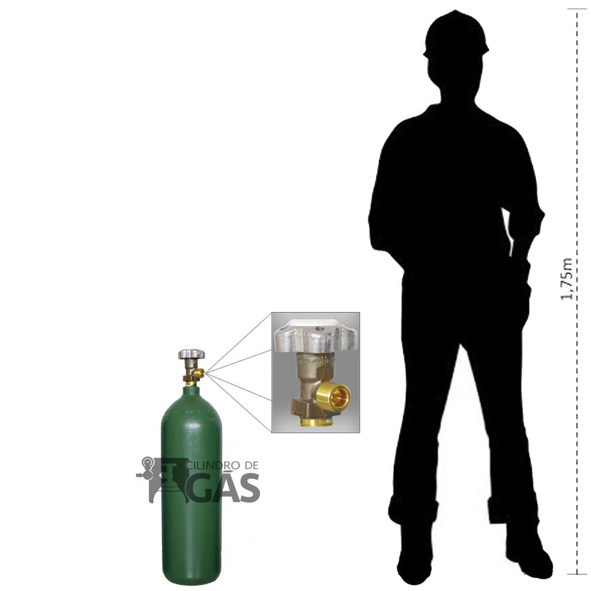 Cilindro para Oxigênio Medicinal - 10L