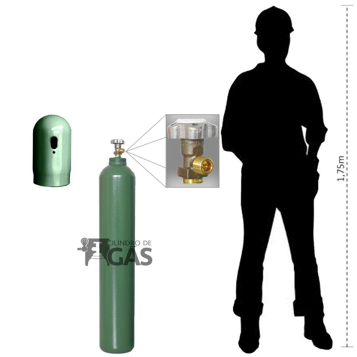 Cilindro para Oxigênio Medicinal - 15L