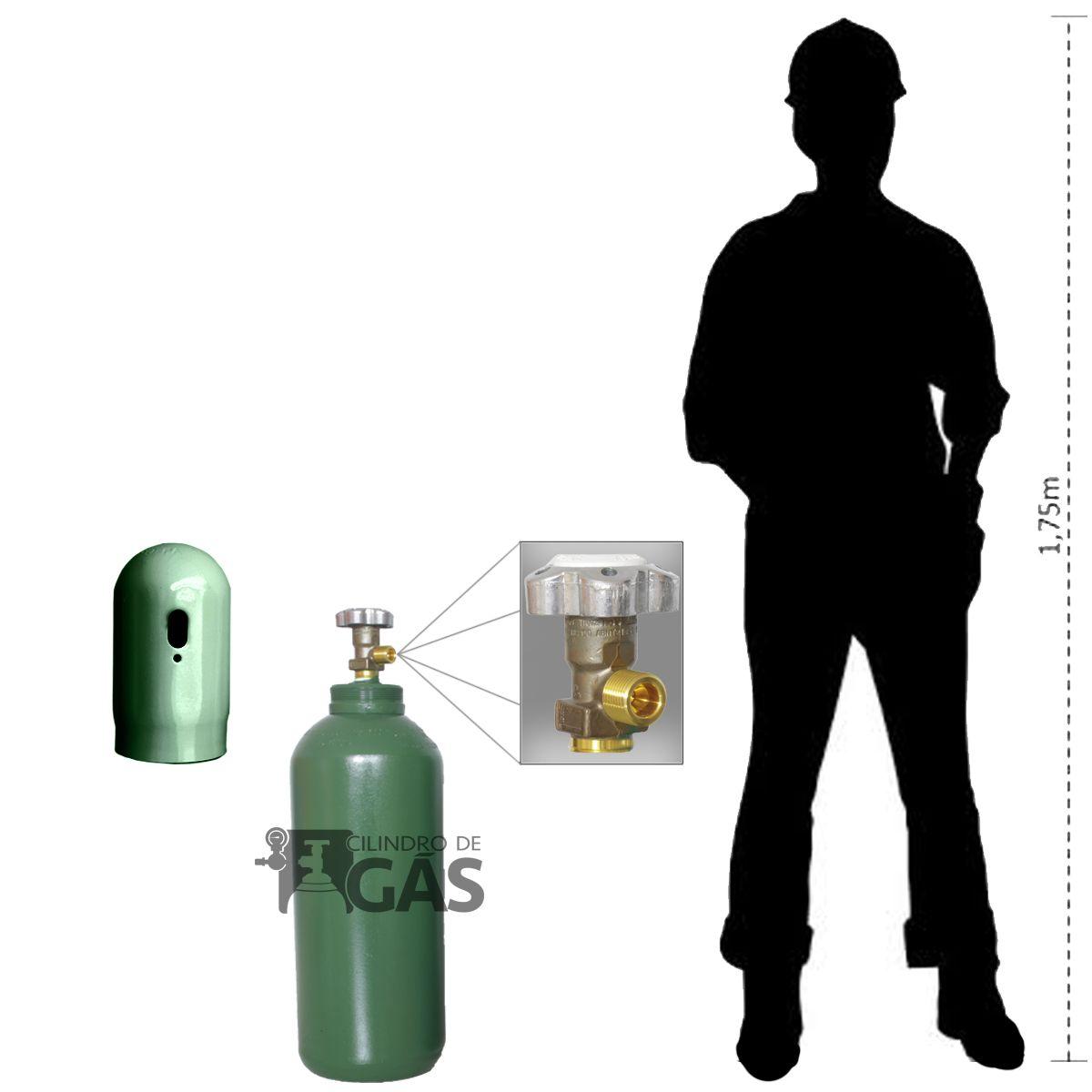Cilindro para Oxigênio Medicinal - 20L