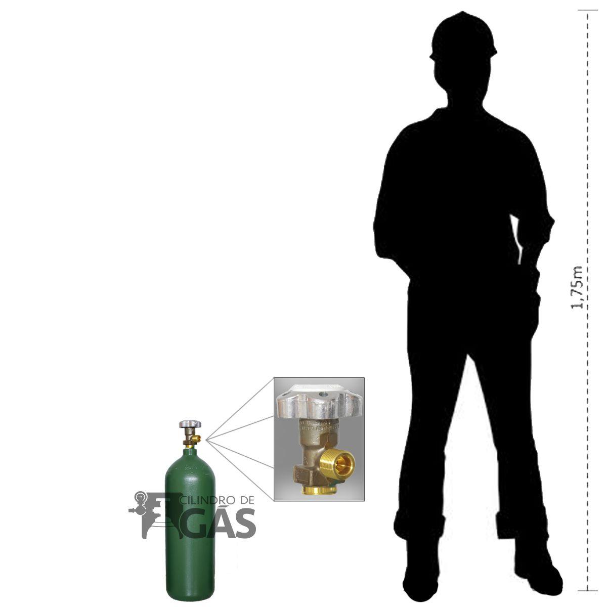 Cilindro para Oxigênio Medicinal - 3L