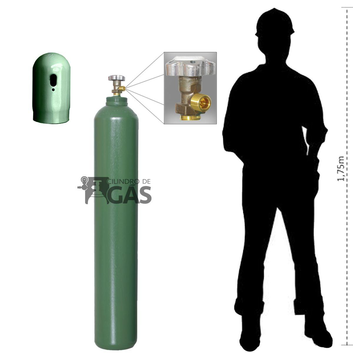 Cilindro para Oxigênio Medicinal - 40L