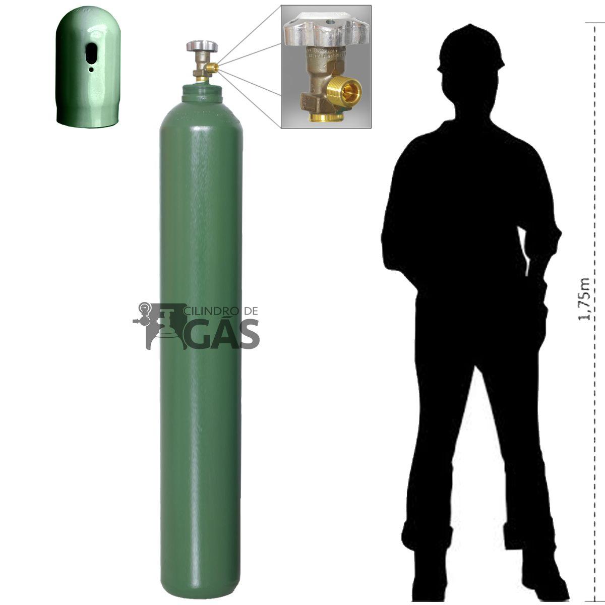 Cilindro para Oxigênio Medicinal - 50L