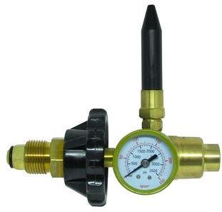 Regulador para Cilindro de Gás Hélio