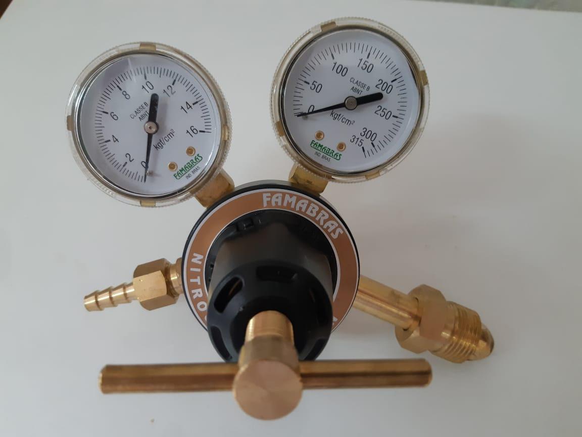 Regulador para Cilindro de Nitrogênio - RI 40N