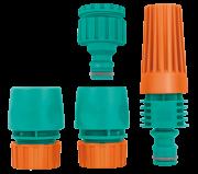 Conjunto Irrigação Engate Esguicho Regulável Tramontina 9115