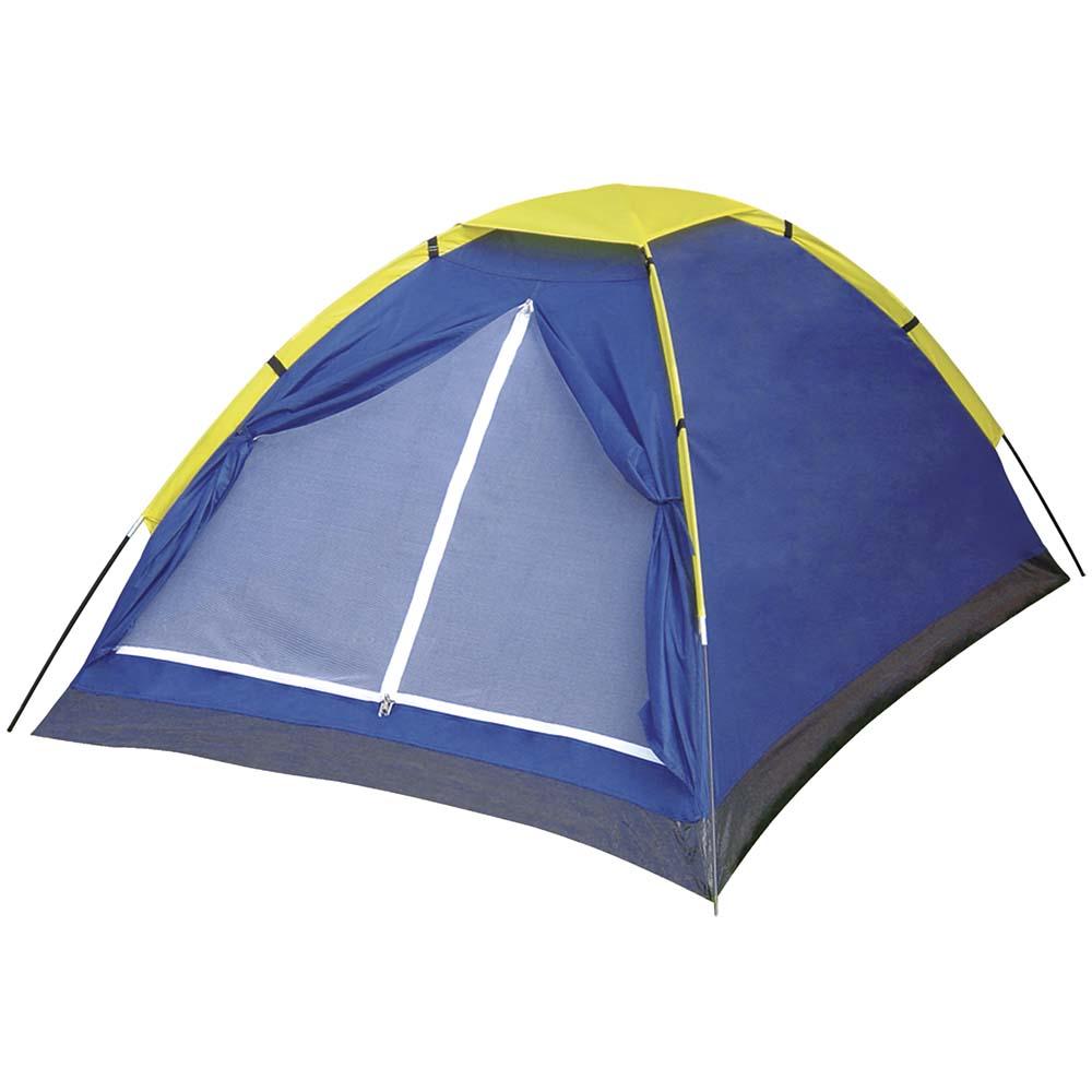 Barraca Iglu Azul Para 2 Pessoas Acampamento Lugares Mor