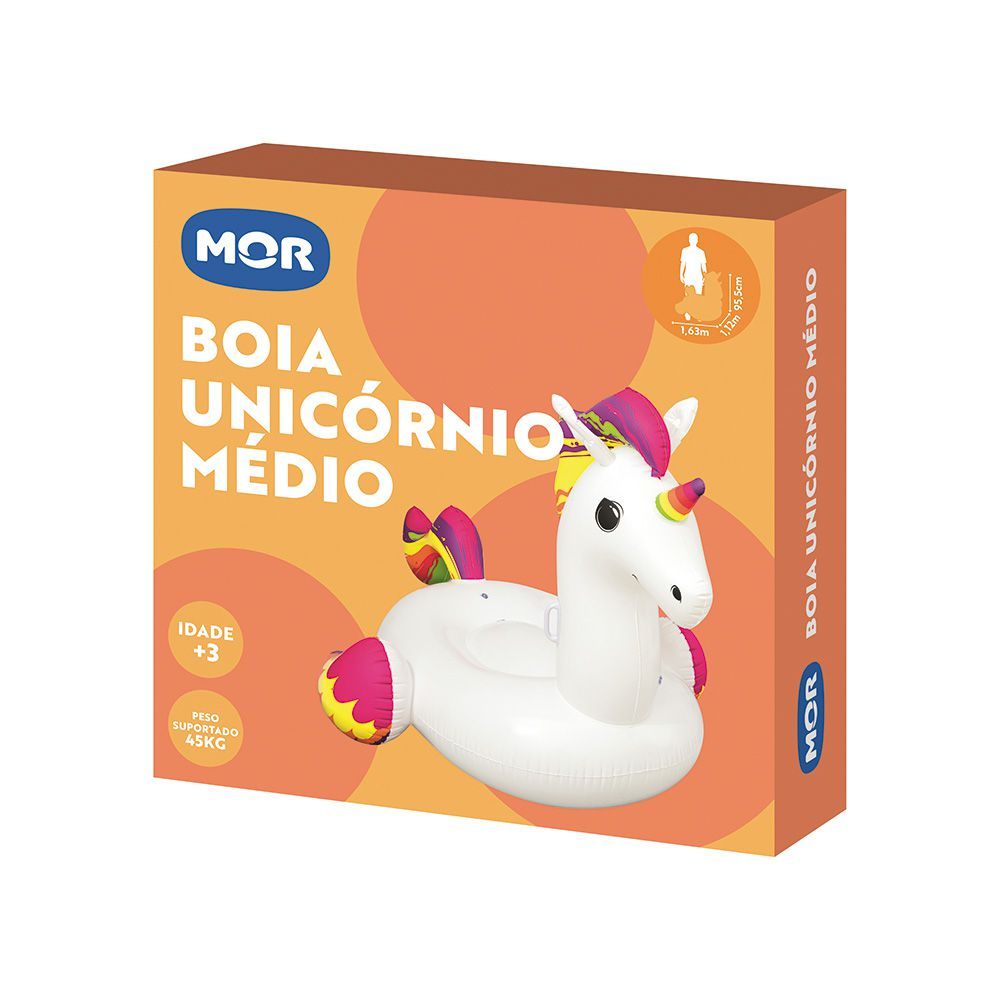 Boia Inflável Unicórnio Tamanho M