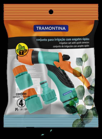 Conjunto Irrigação Para Jardim Quintal Tramontina C9122