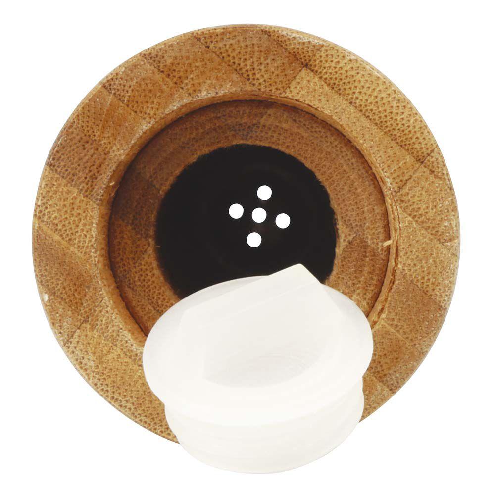 Conjunto Moedor Com Saleiro E Moedor De Pimenta Bamboo Mor