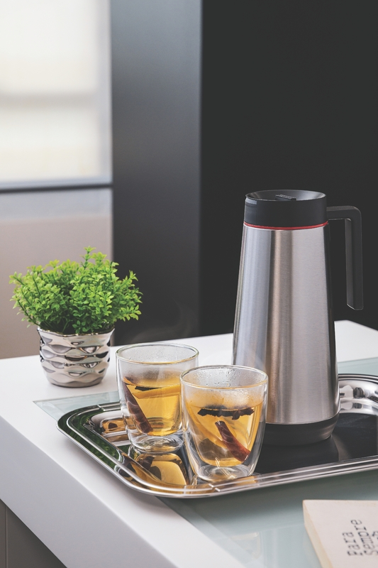 Garrafa Bule Térmico 750ml Em Inox Água Café Chá Tramontina