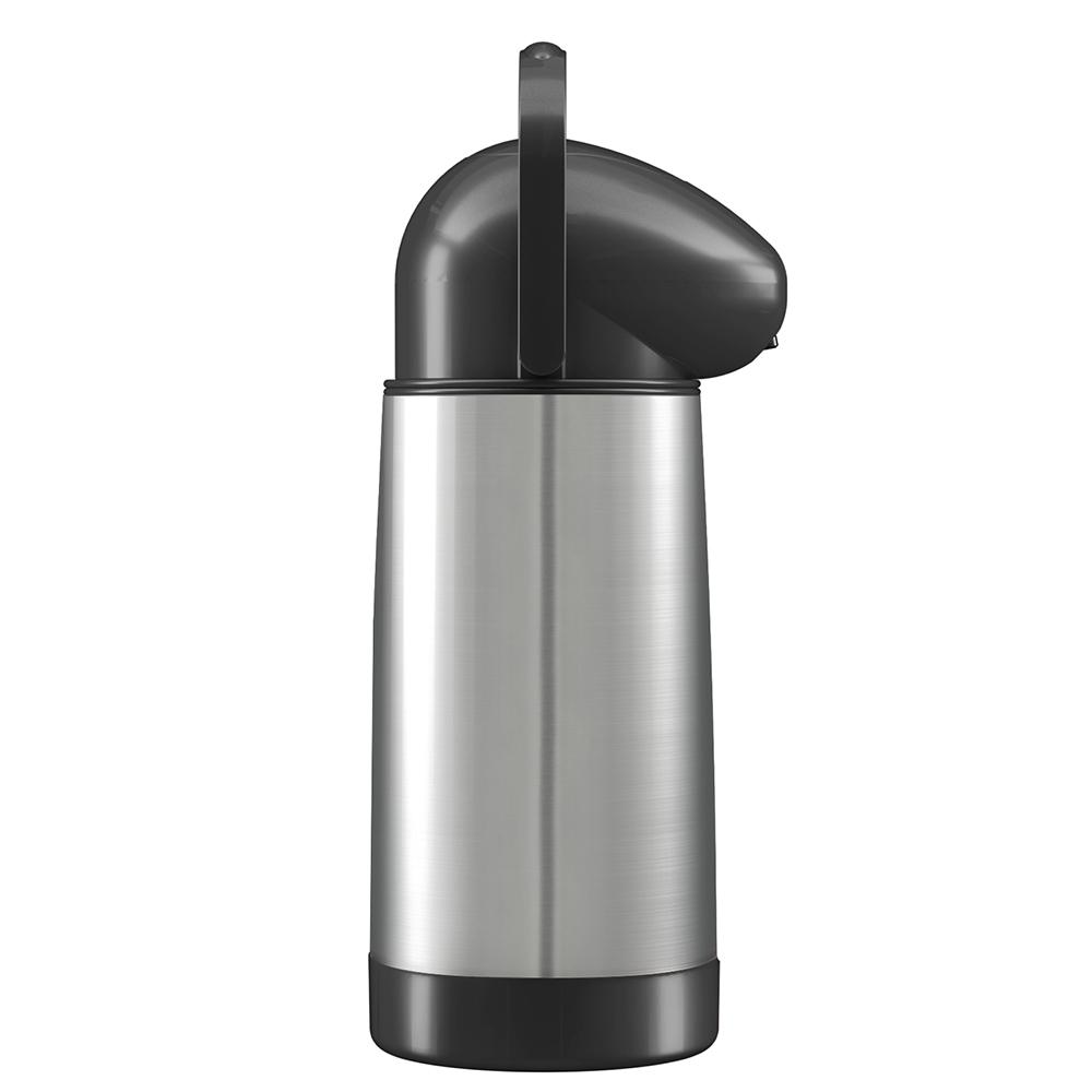 Garrafa Térmica Em Aço Inox De Pressão 1L Mor