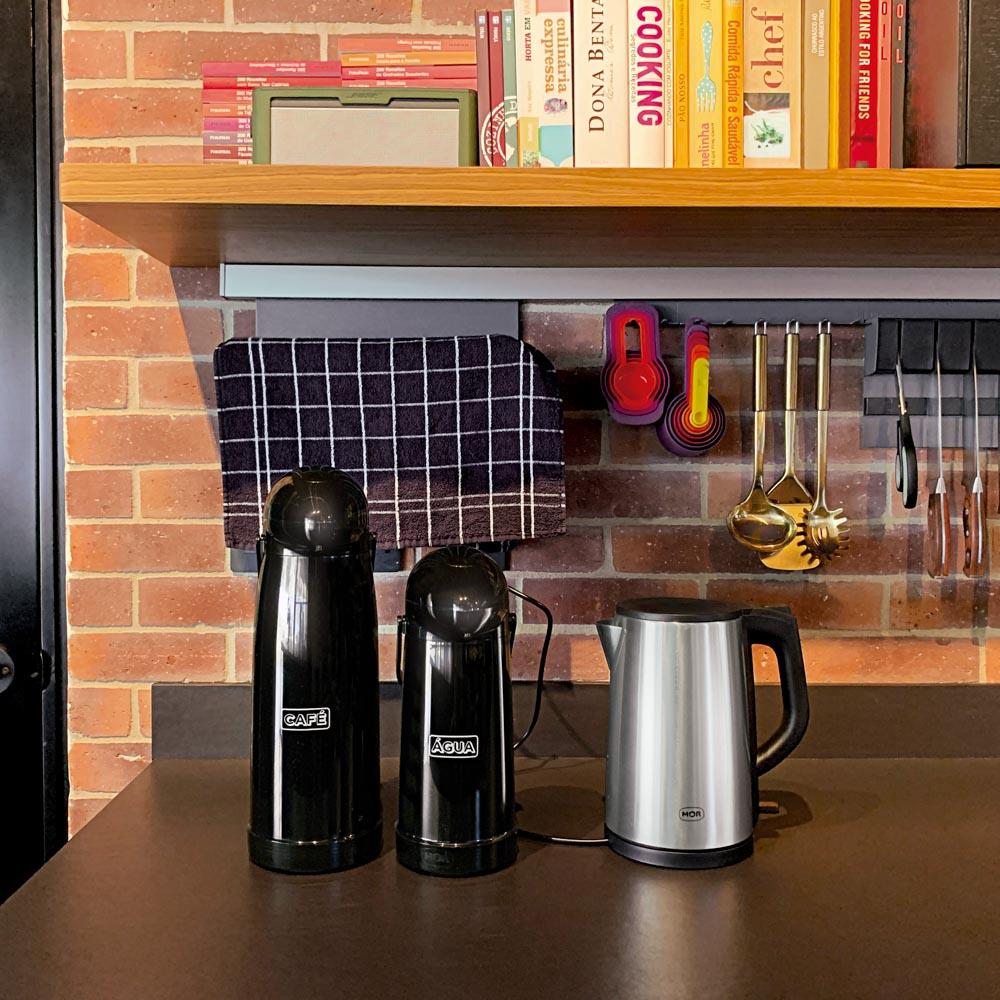 Garrafa Térmica Nobile Água E Café 1L Quento ou Frio Mor