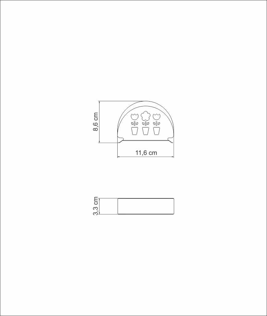 Porta Guardanapo Mesa Papel Utility Aço Inox Tramontina 3366